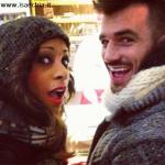 Luca Dorigo con la fidanzata Georgette