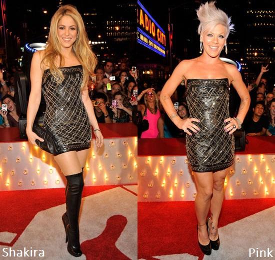 Shakira e Pink
