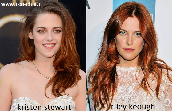 Somiglianza tra Kristen Stewart e Riley Keough