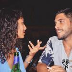 Vito Mancini e Sabrina Mbarek