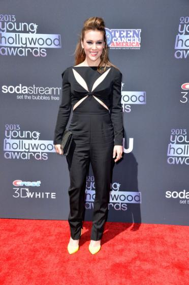 Young Hollywood Awards 2013 - Alyssa Milano