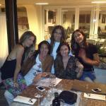 Alessandra Pierelli con Elisabetta Gregoraci ed Eleonora Pedron