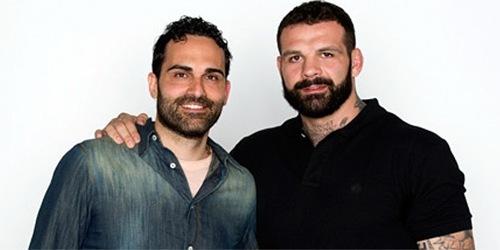 Alessio Sakara e Stefano Venturini