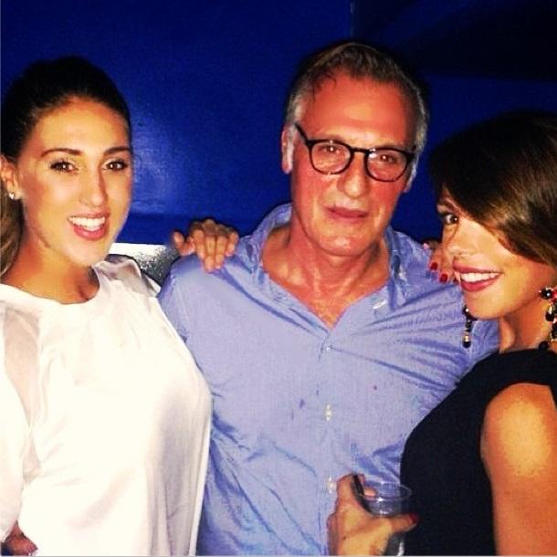 Cecilia Rodriguez, Angelo Monte e Valentina Scognamiglio