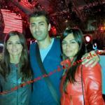 Elga, Gianfranco e Serena Enardu