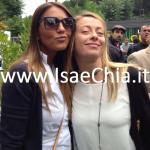 Eliana Michelazzo e Giorgia Meloni