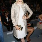Fashion Week Spring 2014 - Kelly Rutherford