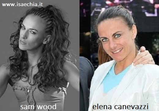 Somiglianza tra Sam Wood ed Elena Canevazzi