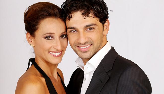 Elisa Di Francisca e Raimondo Todaro