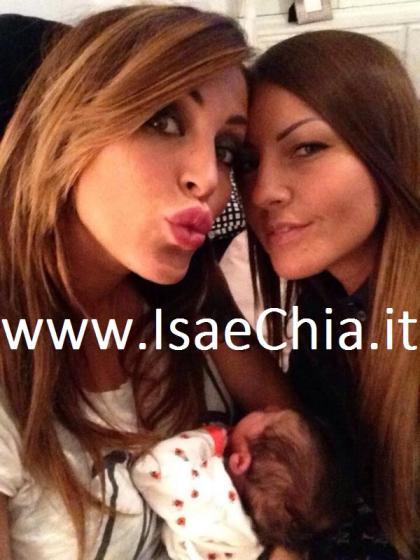 Guendalina Tavassi, Eliana Michelazzo e Chloe D'Aponte