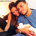 Guendalina Tavassi, Umberto D'Aponte e Chloe D'Aponte