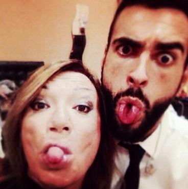 Marco Mengoni e Paola Gallo