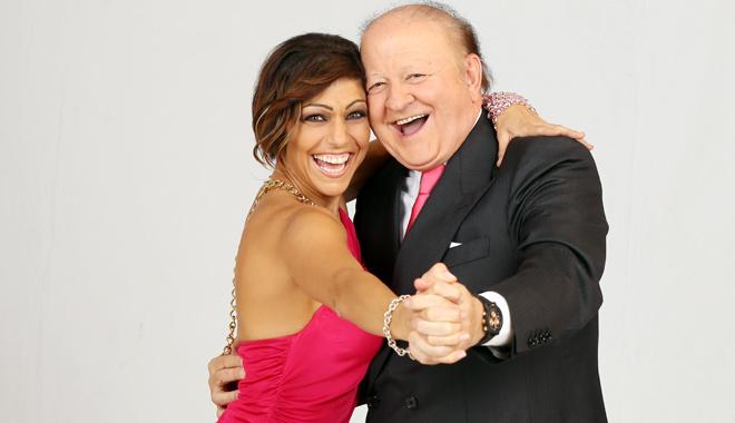 Massimo Boldi ed Elena Coniglio
