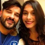 Sabrina Mbarek e Mauro Marin