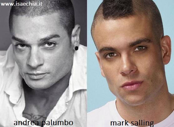 Somiglianza tra Andrea Palumbo e Mark Salling