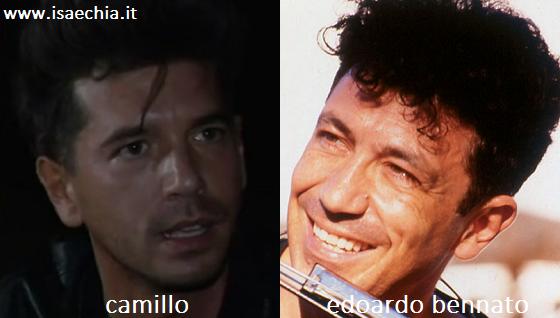 Somiglianza tra Camillo ed Edoardo Bennato