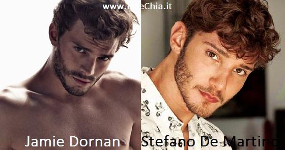 Somiglianza tra Jamie Dornan e Stefano De Martino