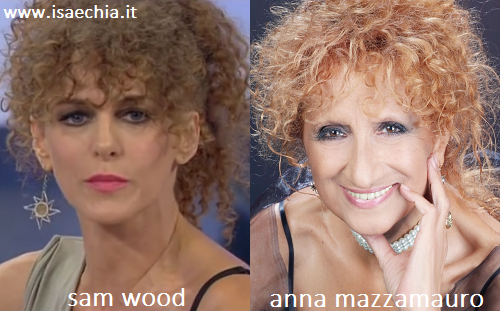 Somiglianza tra Sam Wood e Anna Mazzamauro