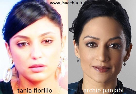Somiglianza tra Tania Fiorillo e Archie Panjabi