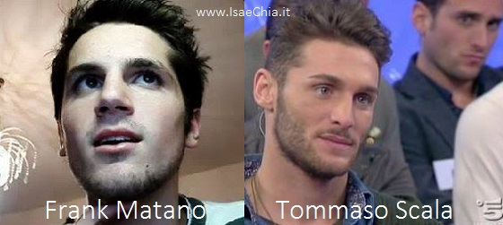 Somiglianza tra Tommaso Scala e Frank Matano