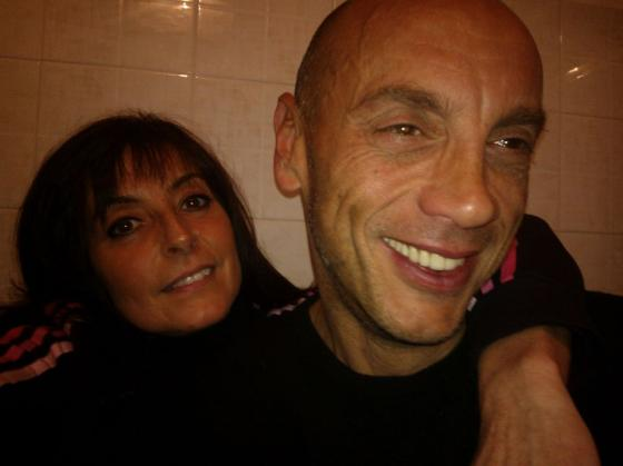 Elisabetta Fantini e Luca Biagini