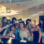 Flavia Fiadone, Nicole Biondi e altre corteggiatrici del Trono misto