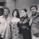 Francesca Fioretti, Ariadna Romero, Paolo Ciavarro e Massimo Ciavarro