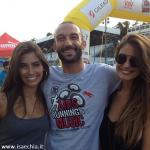 Francesca Fioretti, Ariadna Romero e Alessandro Sampaoli