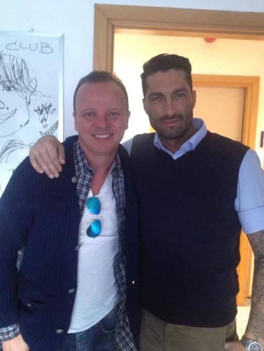 Giorgio Alfieri e Gigi D'Alessio
