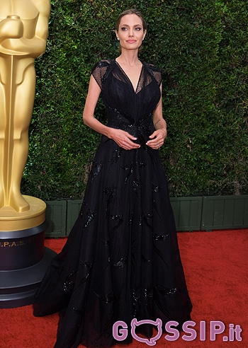 Governors Awards 2013 - Angelina Jolie