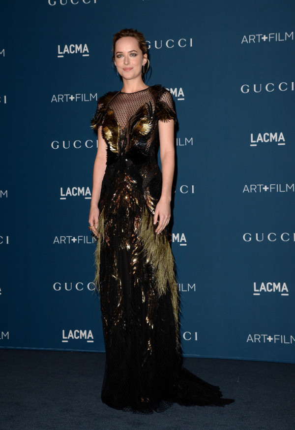 LACMA Art & Film Gala 2013 - Dakota Johnson