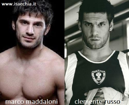 Somiglianza tra Marco Maddaloni e Clemente Russo