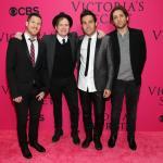 Victoria's Secret Fashion Show 2013 - Pete Wentz, Patrick Stump, Joe Trohman, Andy Hurley