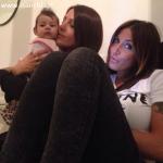 Eliana Michelazzo con Guendalina Tavassi e Chloe D'Aponte