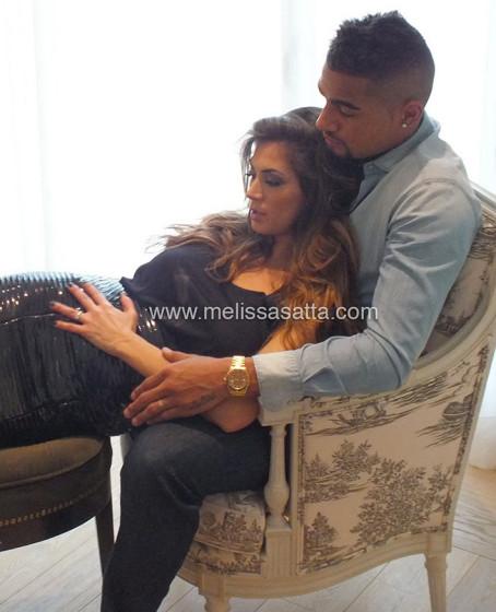 Melissa Satta e Kevin Prince Boateng 1