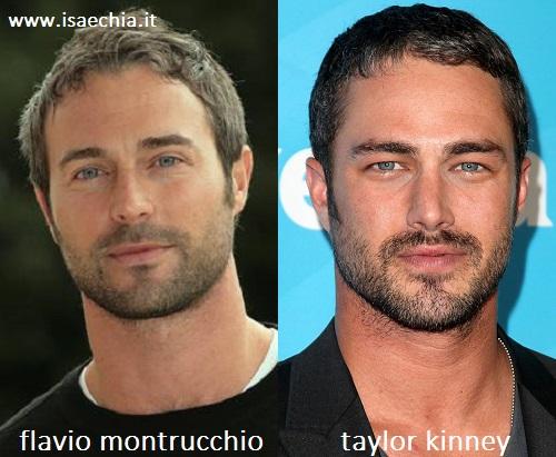 Somiglianza tra Flavio Montrucchio e Taylor Kinney