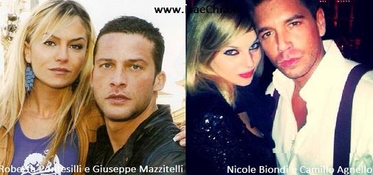Somiglianza tra Giuseppe Mazzitelli & Roberta Pontesilli e Camillo Agnello & Nicole Biondi