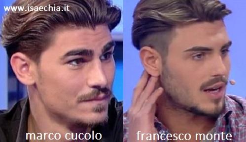 Ciao belle...non notate una certa somiglianza tra lui (fidanzato della Del Santo) e Francesco Monte??  Gioia