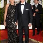 Golden Globes 2014 - Matt Damon e moglie