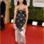 Golden Globes 2014 - Zoe Saldana