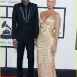 Grammy awards 2014 - Wiz Khalifa & Amber Rose