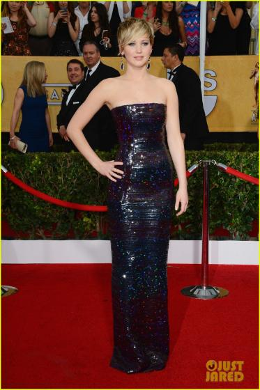 SAG Awards 2014 - Jennifer Lawrence