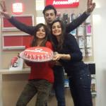 Serena,Elga e Gianfranco Enardu