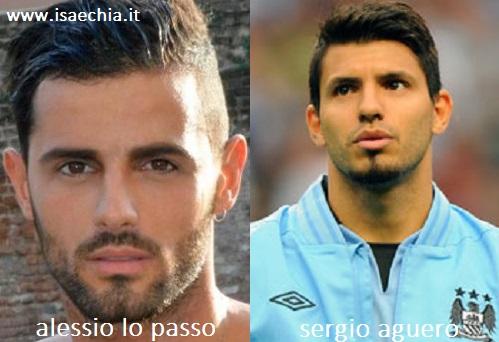 Somiglianza tra Alessio Lo Passo e Sergio Aguero