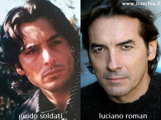 Somiglianza tra Guido Soldati e Luciano Roman