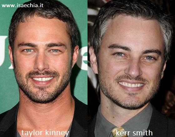 Somiglianza tra Taylor Kinney e Kerr Smith