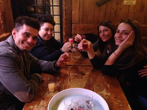 Emanuele Trimarchi, Anna Munafò, Eliana Michelazzo e Pamela
