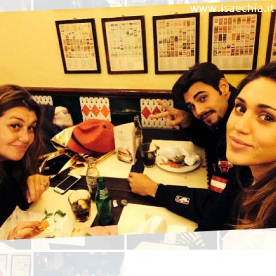 Francesco Monte, Cecilia Rodriguez e Veronica Cozzani