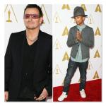 Oscar Luncheon 2014 - Bono, Pharrell Williams