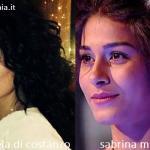Somiglianza tra Emanuela Di Costanzo e Sabrina Mbarek